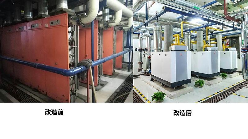 锅炉房改造,热水锅炉