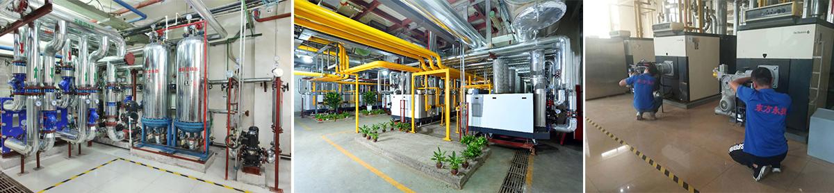 东方永捷锅炉房安装